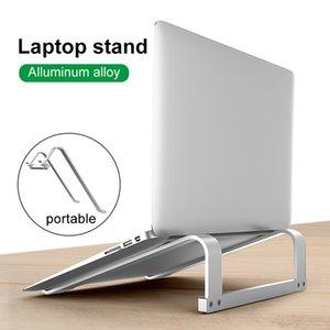 Portable Laptop Stand, Slim Desktop Notebook Holder Riser, Aluminum Adjustable Eye-Level Ergonomic Height Suit for 11 - 17 inch laptop