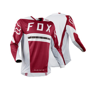 2020 Nova FOX Off-road ciclismo Jersey Mountain Bike Speed Down Bike Cycling de secagem rápida do t-shirt Roupa da motocicleta