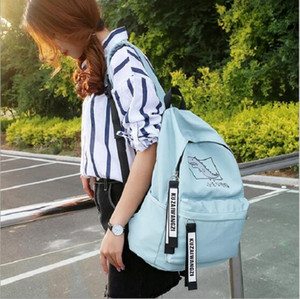 2020 new Fashion backpack girl's School bag Primary and middle school students School bag Girl leisure travel bag free shipping