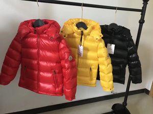 Veste thermique design veste enfants veste d'hiver en plein air de qualité supérieure coupe-vent de vrais enfants en bas manteau de duvet de mode manteau enfants