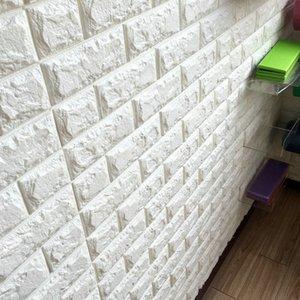 New Thickness 3D Brick PE Foam DIY Wall Sticker Self 51TWC79ziWL 77X70CM Sticker Adhesive Wallpaper Panels