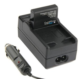 Fotocamera digitale Batteria Caricabatteria da auto per GoPro Hero4 AHDBT-401