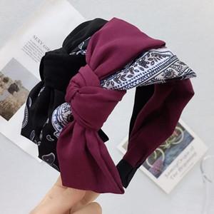 INS Fashion Bow Knot Women Headband Trendy Lovely Charm Lady Hairband Birthday Gift For Girl Elegant Hair Ornament