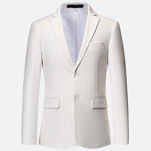 10 Farben plus Größe 5XL 6XL Weiß Formal Jacken für Männer Slim Fit Hochzeit Kleid Man Classic-Jacken-Klage Blazer XXXXXXL