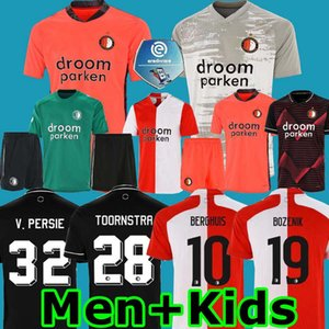 Erkekler çocuklar 20 21 Feyenoord futbol forması Kaleci antrenman aşınma Bryan Linssen Berghuis 2020 2021 SENESI Camiseta de futbol JORGENSEN