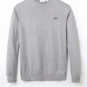 New Men Sweater Pullover Men Hoodie Long Sleeve Sweatshirt Mens Autumn Knitwear Winter Mens Clothing