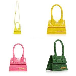 2020 marca de diseño del grano de tejido a mano bolsa de paja Mujeres Samll bolsas de mano para la manija de viajes verano señoras de bolso de hombro para la muchacha J190614 # 528
