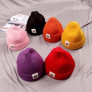 Baby wool children's cloth girl 0 baby 1 boy girl 3 Korean Knitted female hat children's toque fashion knitted hat 4 years old