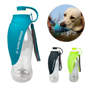 650ml Sport Portable Pet Dog Water Bottle Expandable Silicone Travel Dog Bowl For Puppy Cat Drinking Outdoor Water Dispenser LZ1922