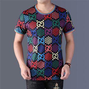 G классический дизайнер короткие рукава Роскошные футболки мужчин женщин GUCCI лето рубашка Lv дышащий LOUIS VUITTON Tee