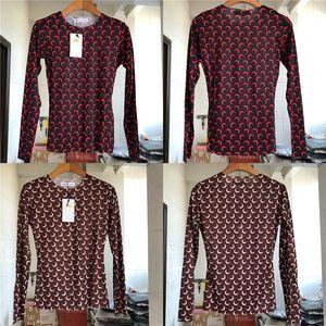 2020SS Marina Serre manga larga camiseta del logotipo de la Luna Llena Hombres Mujeres suave elasticidad Marina Serre camisetas Luna está en etiqueta Tops T-T200512