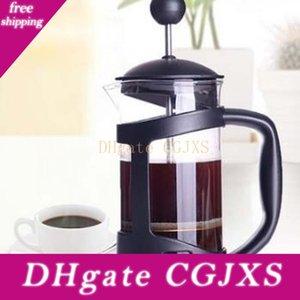 Drucktopf Verfahren französisch Presse Kaffeekanne Glas Tee handgemachten Kaffeefilterpresse Töpfe 350ml