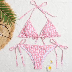 22 Livraison 2020 taille haute maillot de bain Bikini Set Sexy solide Bikinis femmes Push Up Maillots de bain Banting Costume design de bain Bikini maillot de bain sexy