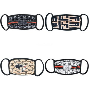 F 1 1Pcs Fa Máscaras 3 capas protectoras de polvo facial Maske Er Ski Set Polvo Dener Impreso Mout Máscara adultos Famask E7M # 662 # 617