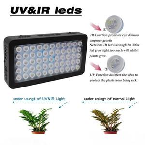 165W LED Aquarium Beleuchtung 55 * 3w Handbuch Dimmbare Voll Spctrum wachsen Licht-Fisch-Behälter Korallenriff Lichter