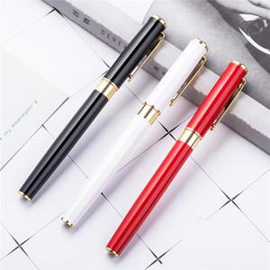 13.7x1.2cm wholesale metal signature pen gel pen business creative fashion metal pen office supplies