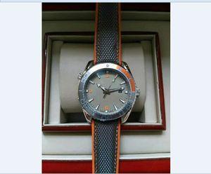 2020 43MM high quality men's watch automatic mechanical movement black gray strap fashion luxury watch
