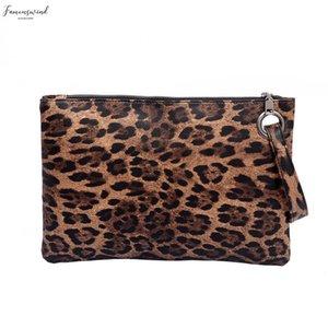 Handbags Zipper Leopard Bags For Women 2020 Vintage Handle Bag Zipper Leopard Messenger Bag Shoulder Simple Packages 9419