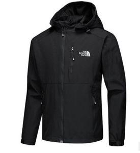 2020 Nuevas camisas de diseñador chaquetas rompevientos de manga larga de los hombres de la cremallera impermeable Windrunner cara norte chaqueta con capucha abrigos ropa