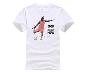 Phiking progettista maglietta Eder The Hero Portogallo shirt uomo 100% cotone manica corta Maglietta stampata casuale