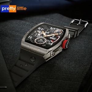 스마트 손목 시계 남성 여성의 생리주기 안드로이드 IOS 피트니스 스포츠 시계 1.4 인치 IP68 방수 스마트 워치