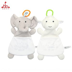 BBUP creative comfort towel animal elephant sheep baby plush storage towel storage bag candy bag maternal and infant products