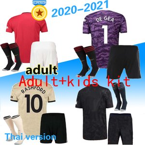 adult kids 20 21new manchester POGBA JAMES united soccer jersey 19 20 21LINGARD LUKAKU RASHFORD football shirt UtD uniforms kit