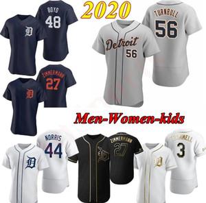 Nouveau 2020 Detroit Brandon Dixon Ronny Ronny Rodriguez John Hicks Miguel Cabrera Goodrum Castellanos Jones Jersey Hommes Femmes Enfants Baseball Maillots