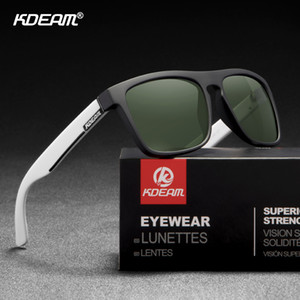 KDEAM Guy's All Matching Polarized Sunglasses Night Sight Photochromic Driving Glasses UV400 New Colors of KD156 CE Y200619