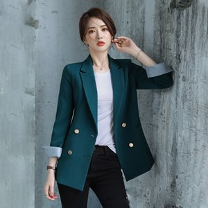 Women's blazer Spring and Autumn Large Size 5XL Loose Basic Retro Suit Women Fashion Jacket Outwear Occupation Clothing K326