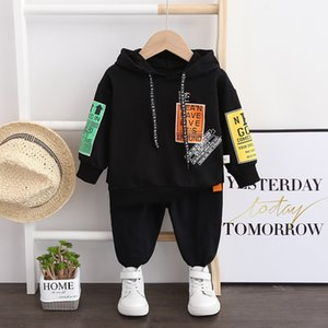 Children Tracksuit Kids Clothing Sets Baby Boys Sports Suits Fashion Hoodies Sweatshirts + Pants 2PCS Boy Clothes Outfits 1-5T