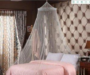 gece sivrisinek örgü Net İyi Zarif Şık Yaz Yatak Perde Netleştirme Canopy'i Sleeping