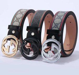 2020 Belt Womens Gucci Mens cuoio genuino cinture nere Gucci donne serpente grande fibbia in oro classico maschile cintura Pearl Casual
