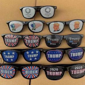 DHL Navire, Lunettes de soleil à la mode Unisexe Trump Biden 2020 Personnalité Présidentielle Personnalité Lunettes Lunettes Fournitures Sports Lunettes de soleil Fy6085