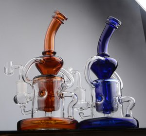 Heady Glass Water bongs Smoke Pipe Accessories Waterpipe Thick Glass Oil Rigs Hookahs Shisha Dab With 14mm banger 8.6 inchs