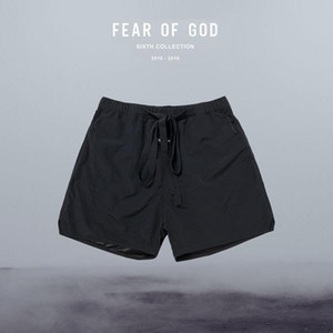 Sport Sommer Frauen High Street Nebel Streamer Shorts Männer Essentials-Druck Street Männer Shorts Fear of God Jogginghose Laufen Aktiv