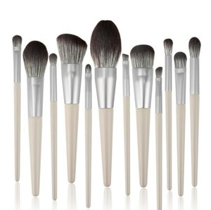Makeup Brushes Set 12pcs lot Blending Eyelash Eyebrow Foundation Makeup Brushes Professional Eyeshadow makeup Brush J1103