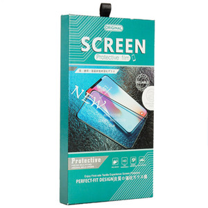 Luxury High Quality Packing Box For Tempered Glass Hard Paper Wood Case For iPhone 11 Pro Max Screen Protector