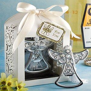 Recuerdos para fiestas de cumpleaños del diseño del ángel abrebotellas favor a la boda favorece la caja de regalo Cumpleanos Cumpleaños LZ0259