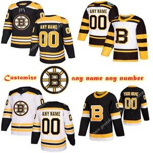 Пользовательские мужские дети женские бостонские брюины трикотажные изделия 13 Coyle 40 RACK 46 Krejci 47 Krug Kuraly Настроить любое имя любое имя Хоккей Джерси