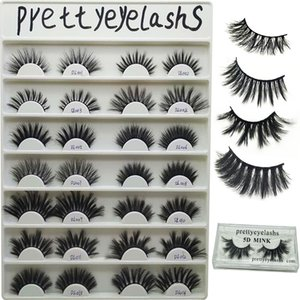 Prettyeylashes 3D mink hair false eyelashes thick natural comfortable false eyelashes factory custom style OEM ODM