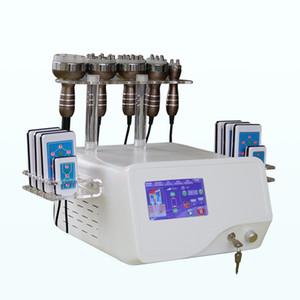 2020 Bester Verkauf 6 in 1 Unoisetion Cavitation Ultraschall Vakuum RF Radio Frequency Lipo Laser-Maschine zum Verkauf
