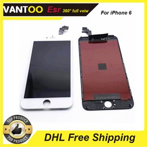 LCD ESR prime pour iPhone 6 Mieux brigtness Sight Angle écran plein avec Easy Remplacer Garantie