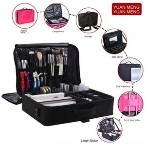 PdNr4 Make-up portable Toolbox cosmetic bag multi-functional Oxford cloth partition cosmetic bag large and small multi-layer beauty manicure