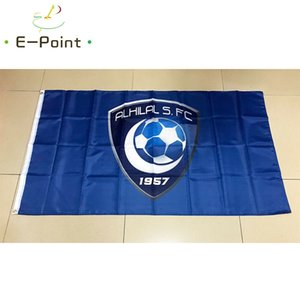 Флаг Саудовской Аравии SPL Аль-Хилал Saudi FC * 3 фута 5 футов (150см * 90см) Флаг Баннер украшение летающего дома сад