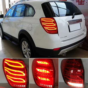 2Pcs Car Styling For Chevrolet Captiva Tail Lights 2008-2019 New Kaptiva LED Tail Lamp DRL Signal Brake Reverse auto Accessories