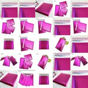 Sobres 1375X11 burbuja Polymailer acolchados 1375 x 11 pulgadas Peel Sello púrpura Paquete de 50 Aplus Medios de burbujas Sobres acolchados Polymailer BWKhG
