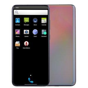 """6.9"""" Punch-agujero de pantalla completa S20U GPS20 Ultra 5G Quad Core MTK6580 1 GB 8 GB + 32 GB Android 10 Cara Identificación de huellas dactilares de doble tarjeta SIM de teléfono inteligente Nano"""
