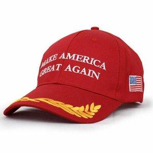 Donald Trump Cap 2020 Etats-Unis Election Faire Amérique Grande Encore une fois Chapeau extérieur réglable Casquette rouge DDA137
