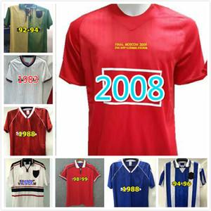 Robson Hughes McClair RETRO MANCHESTER 1990 1992 UNITED deplasmanda FUTBOL shirt 03 04 07 08 Vintage formaları MAN UTD Camiseta Sharpe Paul Ince